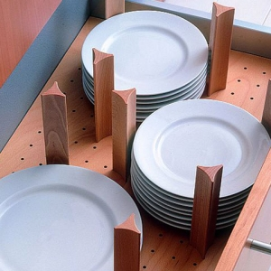 Beech Plate Drawer Insert