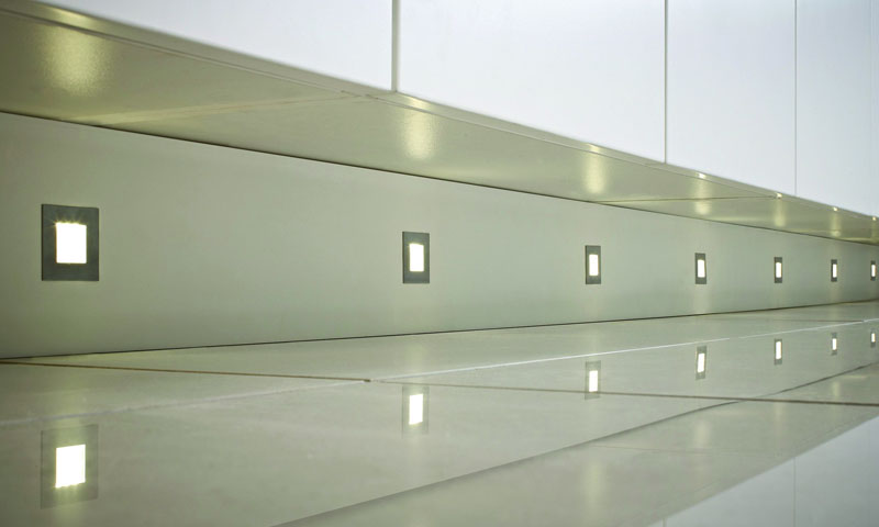 Stainless Steel LED Plinth Lights
